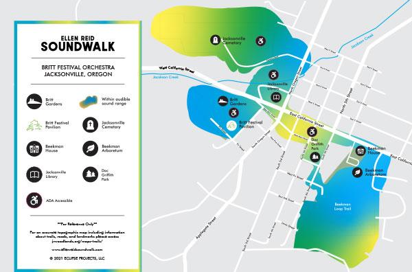 SOUNDWALK MAP Jacksonville OR